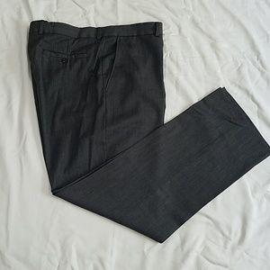 Mens dark gray dress pants